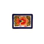 Casafina Alentejo Terracotta Giftware Blossom Tiny Rectangular Dish