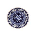 Casafina Alentejo Terracotta Indigo 9 Inch Salad Plate