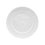 Costa Nova Astoria White Stoneware Charger Plate, Set of 2