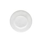 Costa Nova Astoria White Stoneware 9 Inch Salad Plate, Set of 6