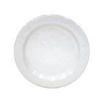 Casafina Fattoria White Stoneware Dinner Plate, Set of 6