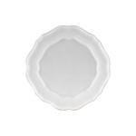 Casafina Impressions White Stoneware Dinner Plate