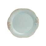 Casafina Madeira Harvest Blue Stoneware Dinner Plate, Set of 4