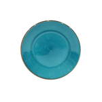 Casafina Sardegna Blue Stoneware 11.75 Inch Dinner Plate