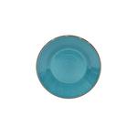 Casafina Sardegna Blue Stoneware 9.5 Inch Salad Plate
