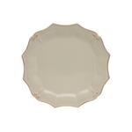 Casafina Vintage Port Cream Stoneware Round Dinner Plate