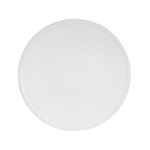 Costa Nova Friso White 13.5 Inch Charger Plate, Set of 2