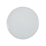 Costa Nova Pearl White 13.5 Inch Charger Plate, Set of 2