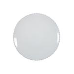 Costa Nova Pearl White Dinner Plate, Set of 6