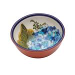 Casafina Alentejo Terracotta Giftware Hydrangea Dip Bowl