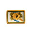 Casafina Alentejo Terracotta Giftware Sunflower Tiny Rectangular Dish