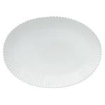 Costa Nova Pearl White 20 Inch Oval Platter