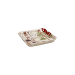 Casafina Deer Friends Linen Stoneware Tray and Bowl Set