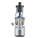 Breville The Big Squeeze Slow Juicer with Bonus Cutting Board and Knife
