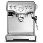 Breville The Infuser Stainless Steel Espresso Machine with Stainless Steel Smart Grinder Pro