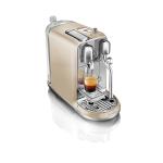 Breville Nespresso Creatista Royal Champagne Espresso and Latte Maker with Espresso Glasses