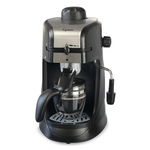 Capresso 304.01 Steam Pro Black Espresso and Cappuccino Machine, 4 Cup