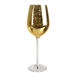 Artland Rustica Gold Glass 17 Ounce Goblet