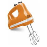 KitchenAid KHM512TG Ultra Power Tangerine Orange 5-Speed Hand Mixer