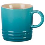 Le Creuset Caribbean Stoneware 3.5 Ounce Petite Espresso Mug