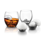 Final Touch On the Rocks Glass and Chilling Ball Set