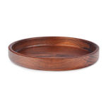 Final Touch Solid Wood Large Serving Tray
