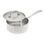 American Kitchen Premium Tri-Ply Stainless Steel Nonstick Covered 10 Inch Frying Pan