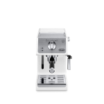 DeLonghi White Manual Espresso and Cappuccino Machine