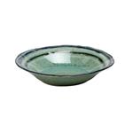 Casafina Sausalito Green Stoneware 8.75 Inch Pasta/Soup Bowl, Set of 4