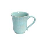 Casafina Impressions Blue Stoneware 12 Ounce Mug, Set of 4