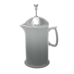 Chantal Craft Coffee Collection Fade Grey Ceramic with Stainless Steel Plunger 3.5 Cup French Press