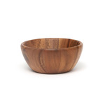 Lipper Acacia 6 Inch Round Flair Bowl