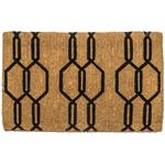 Entryways Extra-Thick Gossamer 18x30 Inch Handwoven Coconut Fiber Doormat