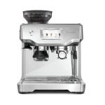 Breville The Barista Touch Espresso Machine with Espresso Glasses and Knock Box