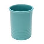 Chantal Aqua Ceramic Medium Utensil Crock