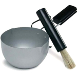 Sagaform Marinade Bowl and Brush 2 Piece Set