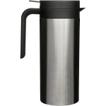 Sagaform Cafe Black 18/10 Stainless Steel Java Coffee Pitcher, 33 Ounce