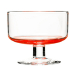 Sagaform Juicy 10 Ounce Red Dessert Bowls, Set of 2
