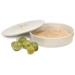 RSVP White Stoneware 10 Inch Tortilla Warmer