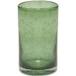 Artland Iris Sage Seeded Glass 17 Ounce Highball Tumbler