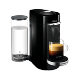 DeLonghi Nespresso Vertuo Plus Deluxe Black Coffee and Espresso Machine