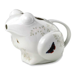 Lenox Butterfly Meadow 2.25 Quart Figural Frog Pitcher