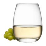 Luigi Bormioli Michelangelo Stemless 15.5 Ounce Wine Glass, Set of 4