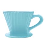 Chantal Craft Coffee Aqua Ceramic 8 Ounce Lotus Pour Over Filter