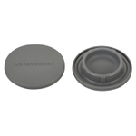 Le Creuset Oyster Silicone Mill Cap, Set of 2