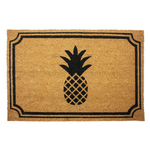 Entryways Pineapple 24x36 Inch Coir Doormat with Backing