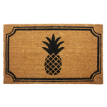 Entryways Pineapple 18x30 Inch Coir Doormat with Backing
