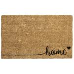 Entryways Handwoven Coconut Fiber 18 x 30 Inch Home Doormat