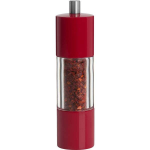 Trudeau Adagio Red Ceramic Red Chili Pepper Mill