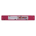 Three by Three Mini Magnetic Strip Bulletin Board in Pink
